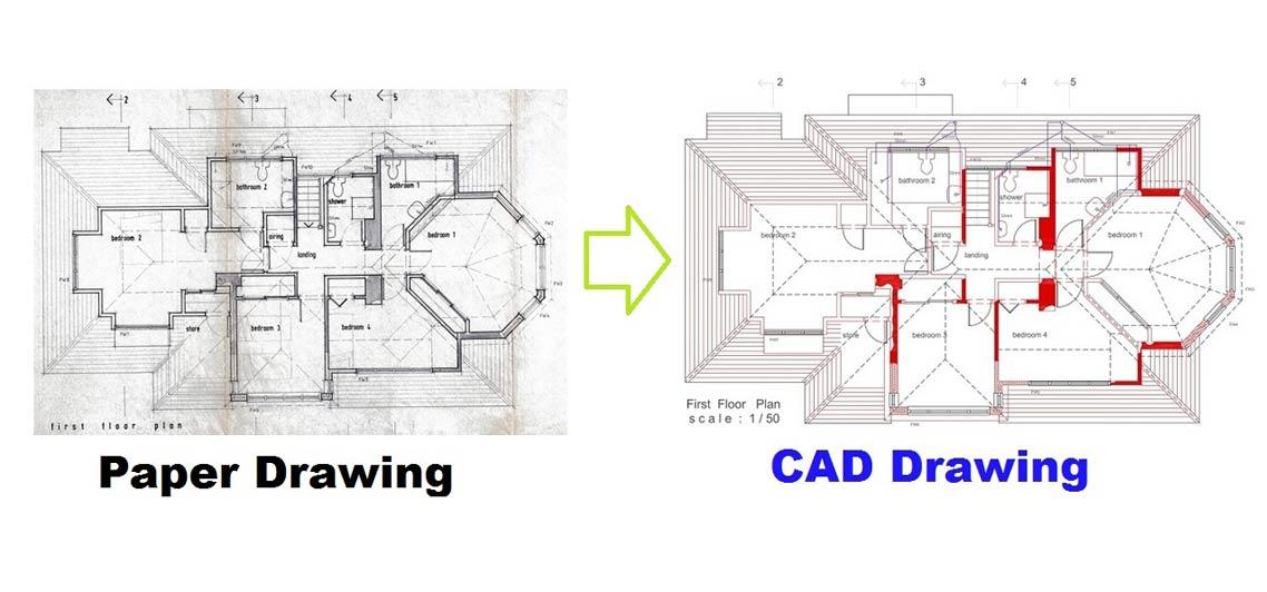 CAD Drawing services & 3D CAD Drafting, Revit & 3D Visuals & As