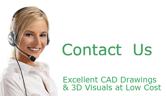 Excellent CAD Drawings & 3D Visuals at Low Cost